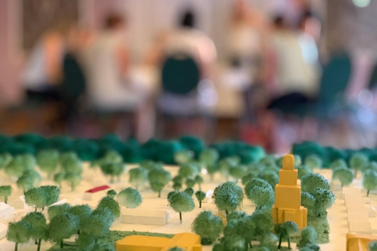 Lausitzer Gartenstadt 2030 Abschlusspräsentation des Erika Sommersemester 2020